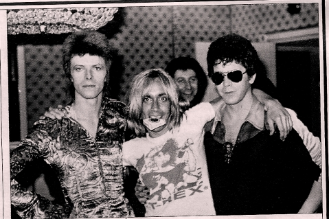 BOWIE REED POP 1972 MICK ROCK ROLLING STONE