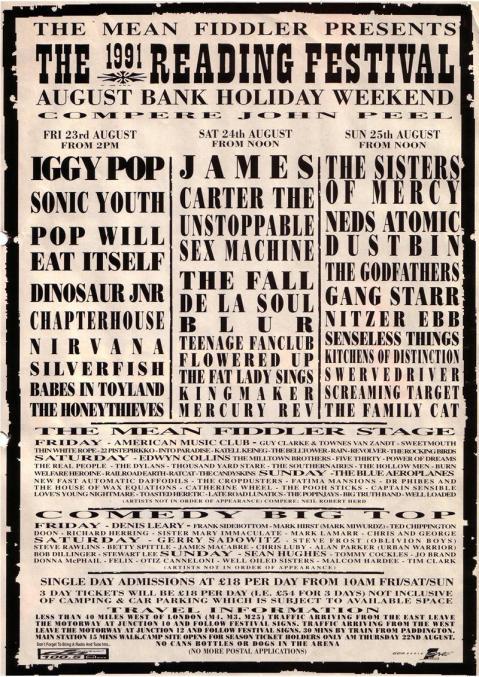 1991Festival Programme